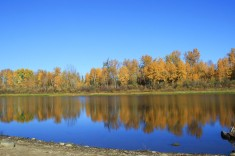 best river pic in fall