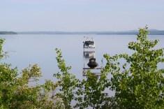 Boating is a favourite activity at Sylvan Lake