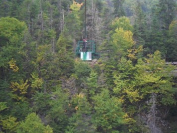 Zipline at Marble Mountain, NL Canada
